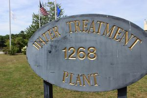 Water Treatment Plant Sign