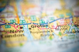 Groton on Map