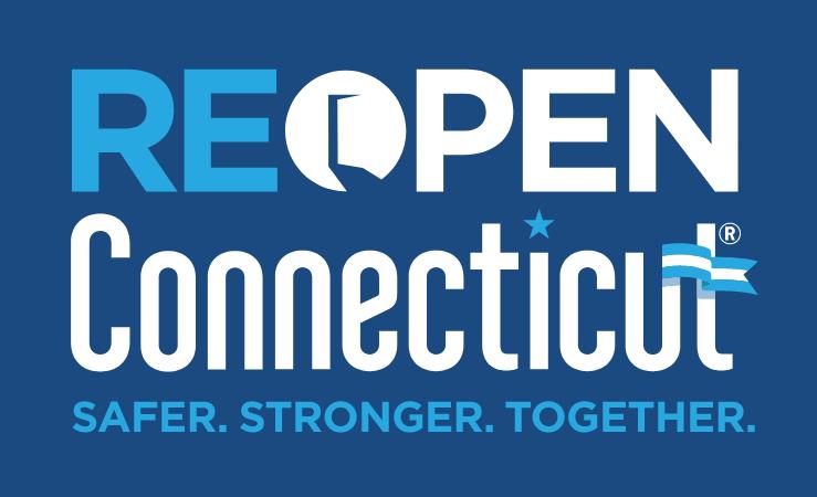 reopen connecticut logo