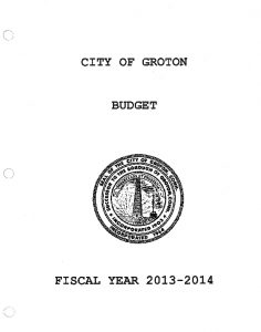 Icon of Proposed Budget, Fiscal Year 2013-2014
