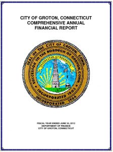Icon of 2013 Comprehensive Annual Financial Report