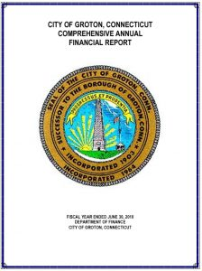 Icon of 2010 Comprehensive Annual Financial Report