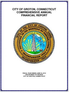 Icon of 2016 Comprehensive Annual Financial Report