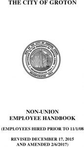 Icon of Employee Handbook - Hired Prior To 11-1-08 (Amended - 2-6-2017)