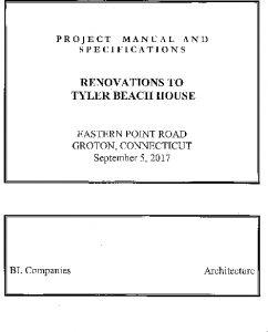 Icon of Tyler House-Invitation To Bid-Renovations