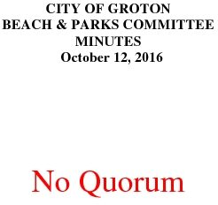 Icon of Beach And Parks Committee 10-12-16
