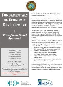 Icon of Fundamentals In Economic Development Training
