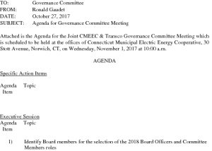 CMEEC Governance Agenda 11-01-2017