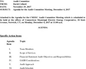 Icon of Audit Committee 12-04-2017 Agenda
