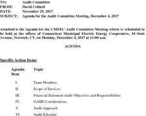 Audit Committee 12-04-2017 Agenda