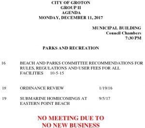 12-11-17 Cancellation PR