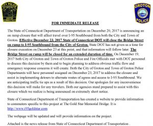 Icon of FOR IMMEDIATE RELEASE - I-95
