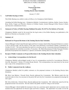 Icon of Bozrah Utilities Commission Public Hearing Minutes 011717
