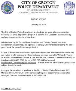 Icon of Public Notice - Accreditation