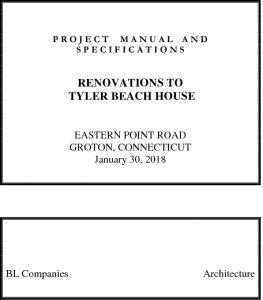 Icon of Tyler Beach House Bid Package