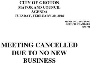 2-20-18 Cancellation