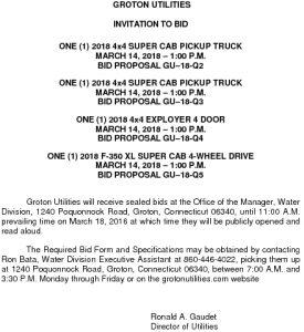 Icon of 4 Vehicle Bid Invitation
