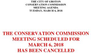 Icon of 3-6-18 Cancellation