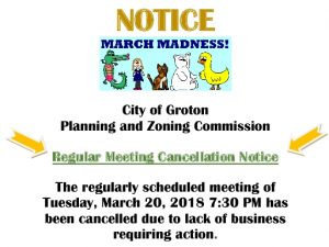 March Cancellation