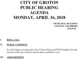 Icon of Pub Hearing Budget 4-16-18