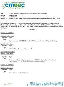 CMEEC Member Delegation Agenda Final 05-02-2018