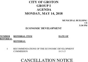 5-14-18 ED Cancellation