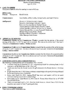 Icon of Bozrah Utilities Commission Meeting Minutes 042518
