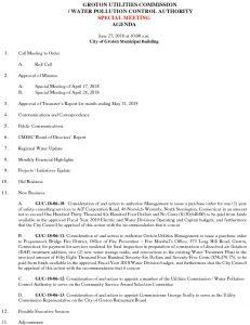 Icon of Groton Utilities Commission SP AGENDA 062718