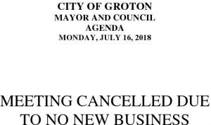 7-16-18 Cancellation