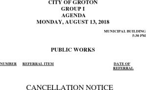 8-13-18 PW Cancellation