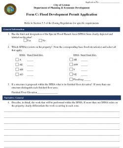 Icon of Form C - Flood Development Permit