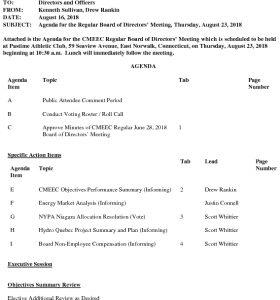 CMEEC Board Agenda 08-23-2018