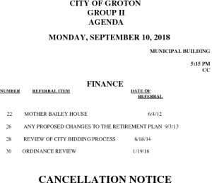 9-10-18 F Cancellation