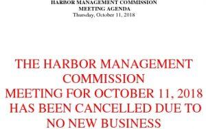 10-11-18 Cancellation