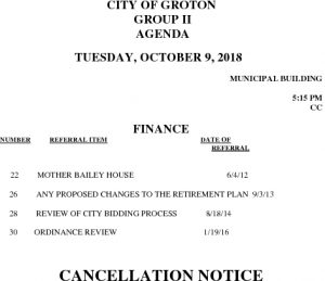 10-8-18 F Cancellation