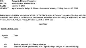 CMEEC BF Comm Agenda 10-12-2018