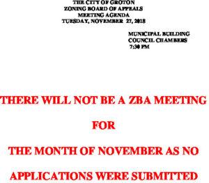 11-27-18 Cancellation