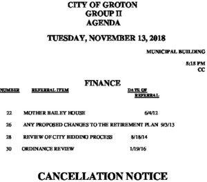 11-13-18 F Cancellation
