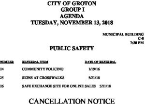 Icon of 11-13-18 PS Cancellation
