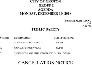 Icon of 12-10-18 PS Cancellation