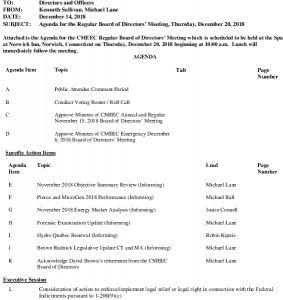 Icon of CMEEC Board Agenda 12-20-2018