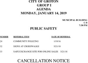 1-14-19 PS Cancellation
