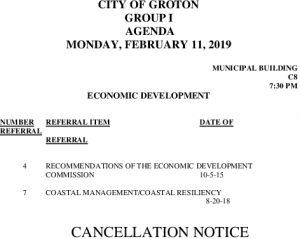 2-11-19 ED Cancellation