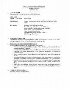 Icon of Bozrah Utilities Commission Meeting Minutes 102418