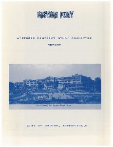 Icon of Eastern Point Historic District Study - April 1990