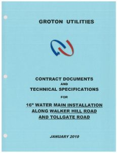 Icon of Contract Documents And Technical Specs