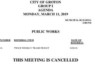 3-11-19 PW Cancellation