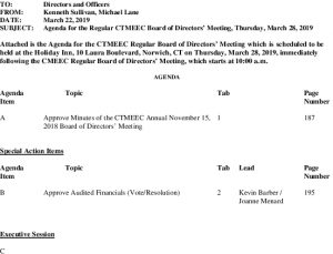 Transco Board Agenda 03-28-2019