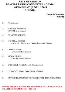 6-12-19 B&P Agenda