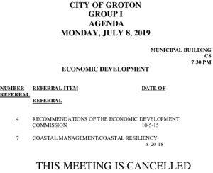 7-8-19 ED Cancellation